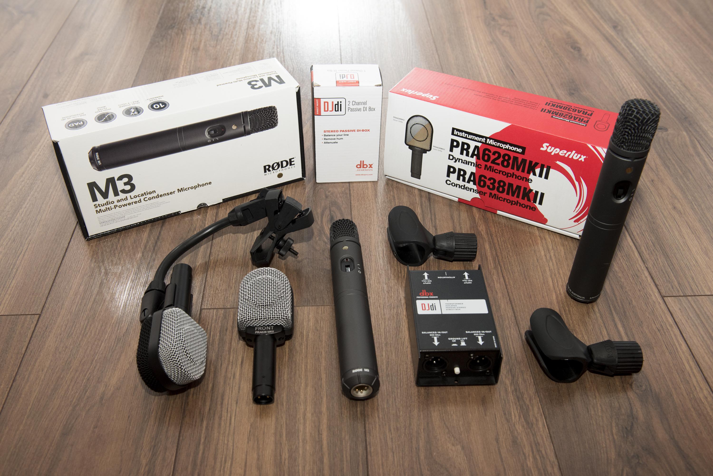 Mikrofony i DiBoxy