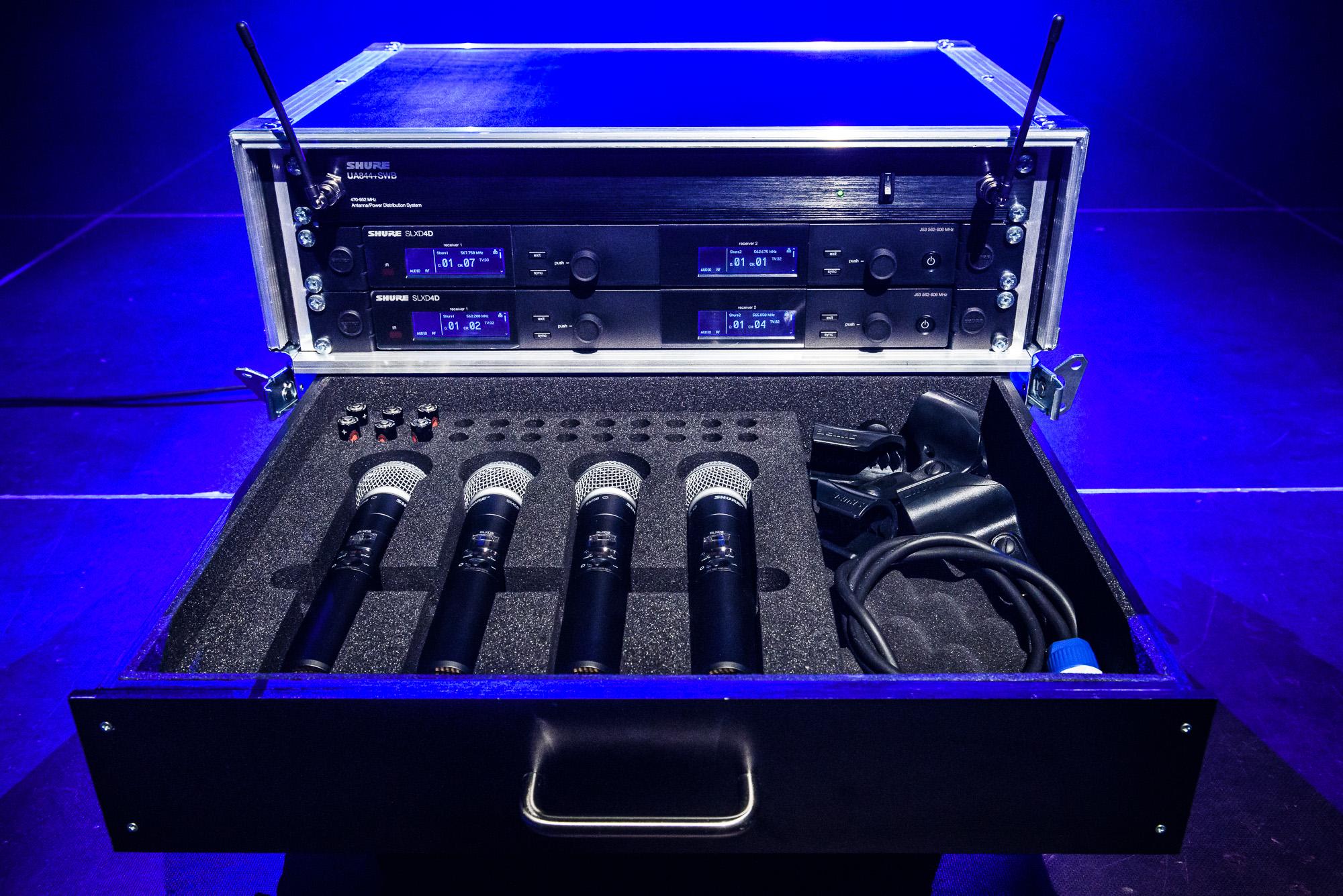 Mikrofony bezprzewodowe SHURE SLX-D