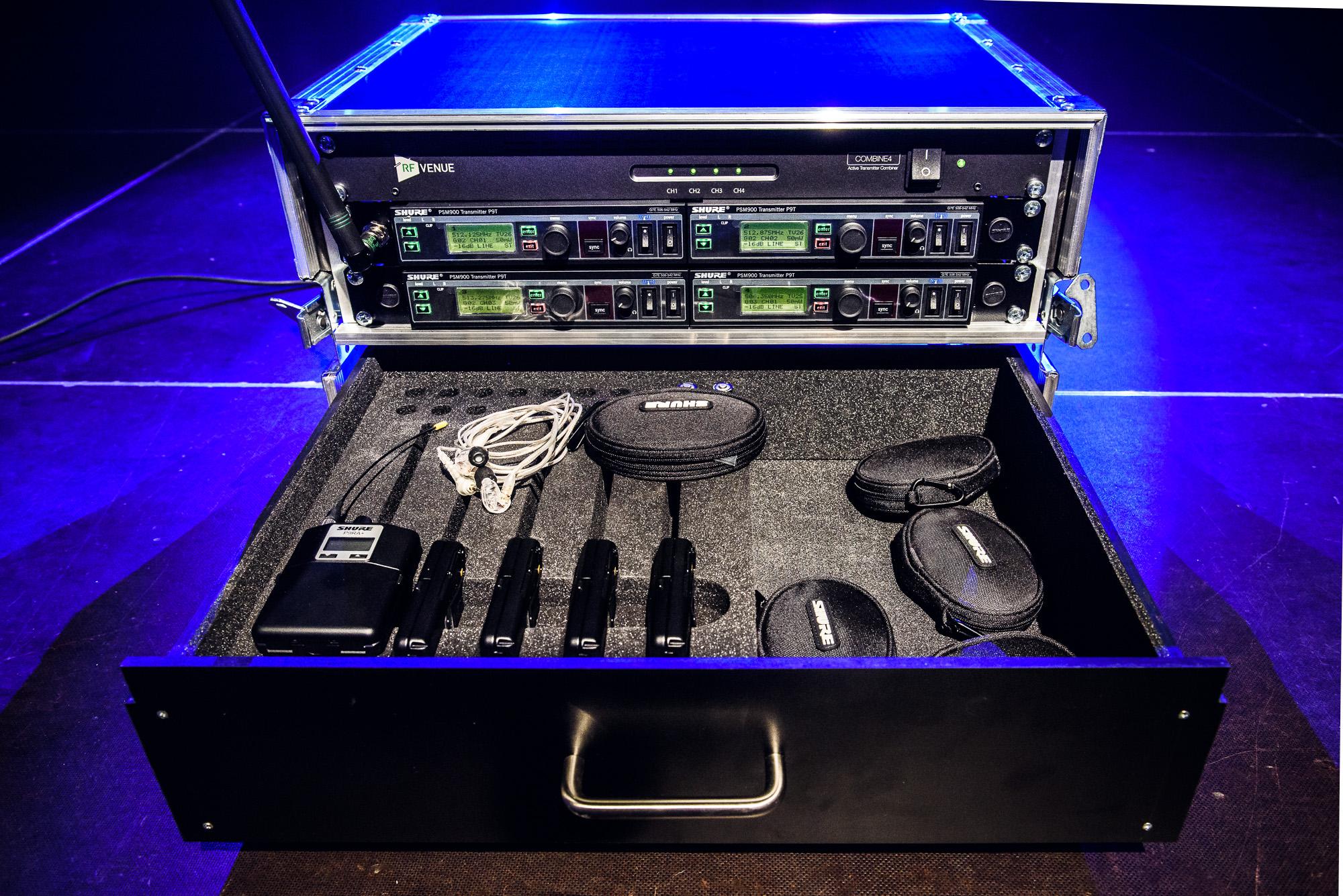Odsłuchy douszne SHURE PSM900